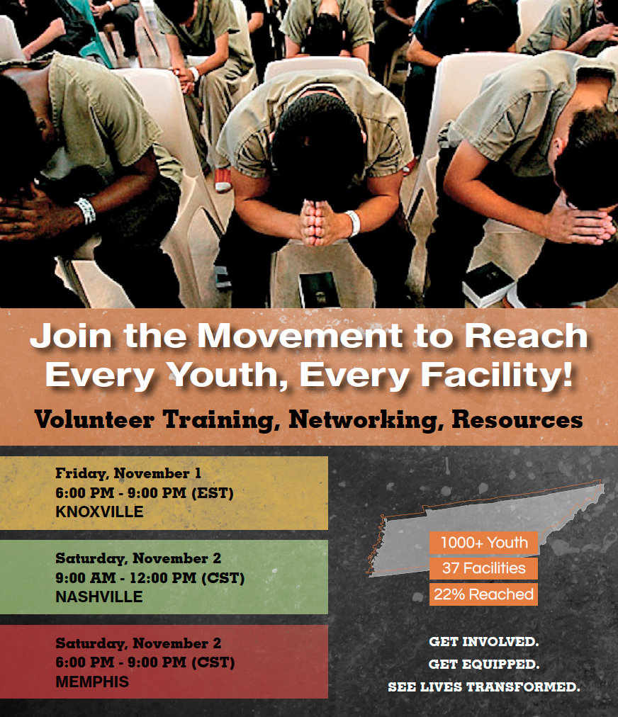 Every Youth: Tennessee juvenile detention center outreach